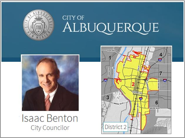SPDNA - Silver Platinum - District 2 - City Councilor Isaac Benton