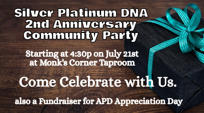 spdna 2nd anniversary birthday fundraiser 2017