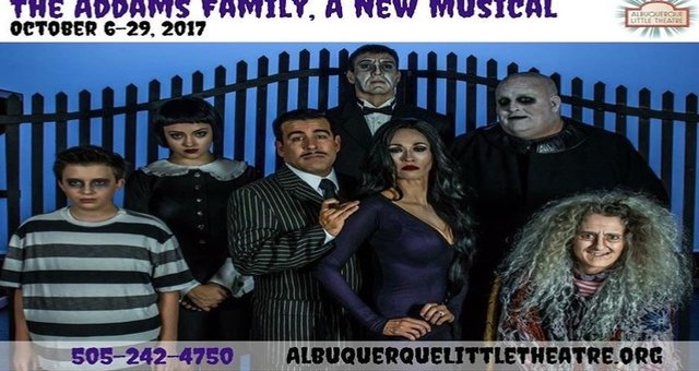 spdna albuquerque little theatre the addams family stage production