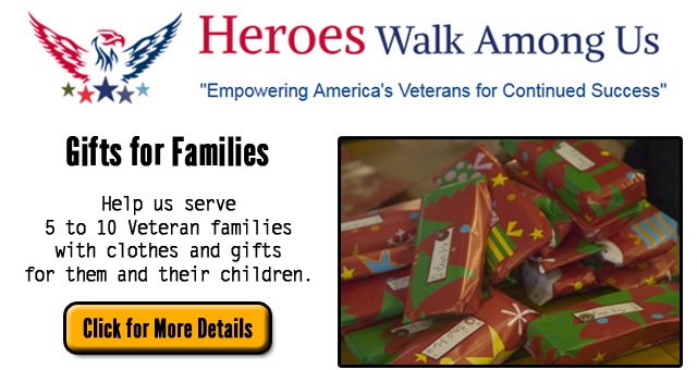 Heroes Walk Among Us - Gifts For Families