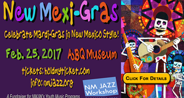 new mexi-gras jazz workshop nmjw youth music program albuquerque new mexico